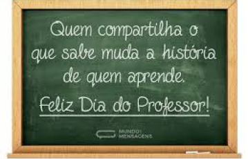 Dia dos Professores (as)